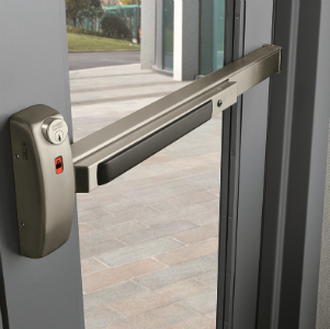 commercial push door