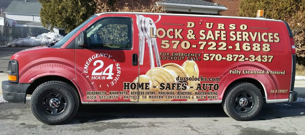 hazleton locksmith truck