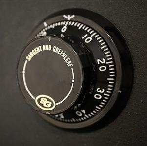 combination safe dial